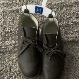 Brown kid gap boots